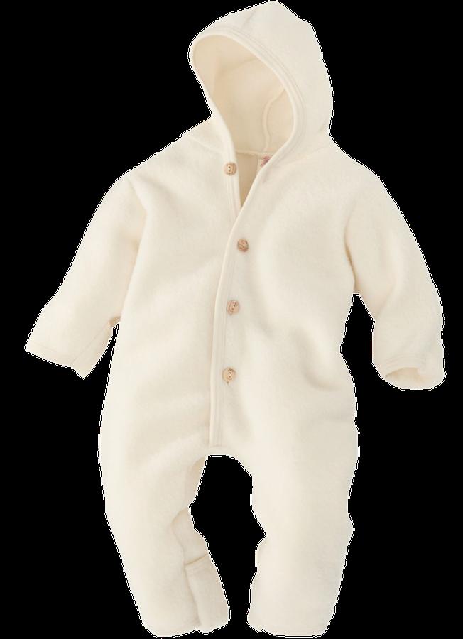 Kombinezon dla niemowląt 100% wełna merynos